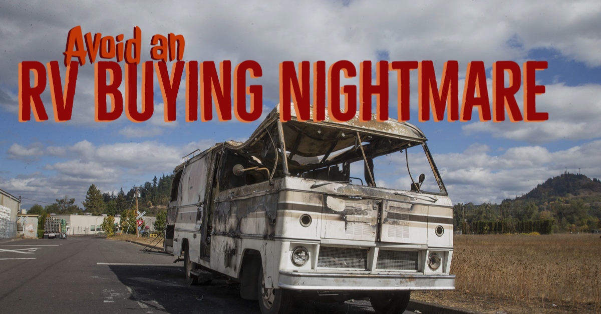 Avoid an RV buying nightmare
